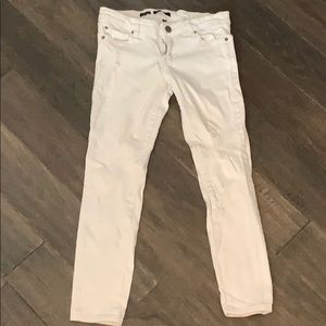 STS blue white cropped jeans